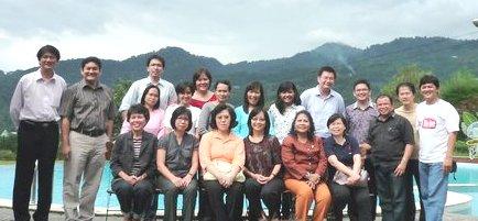 Work Meeting between CMDFI management