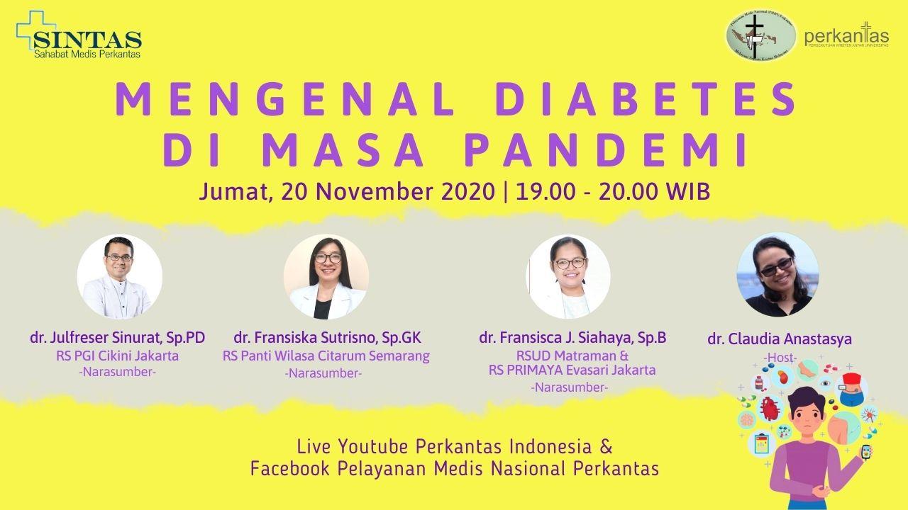 Mengenal Diabetes di Masa Pandemi
